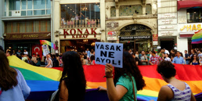 The 11th annual Gay Pride march in Istanbul