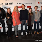 OIC - ENTSIMAGES.COM - Ross Mullan, Ania Marson, Shauna Macdonald, Paul Hyett and Rosie Day at the Film4 Frightfest on Monday   of  Howl   UK Film Premiere at the Vue West End in London on the 31st  August 2015. Photo Mobis Photos/OIC 0203 174 1069