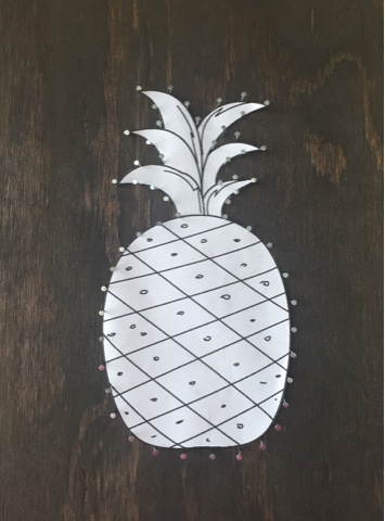 Pineapple String Art besides Egg Carton Bat Halloween Craft Kids further Borders also Distant Road Sunset also Ghost Kids Craft. on paper outline