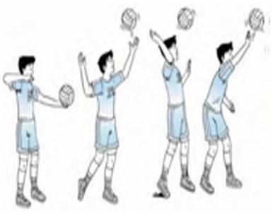 pengertian servis bola voli adalah sajian pertama dalam permainan bola ...