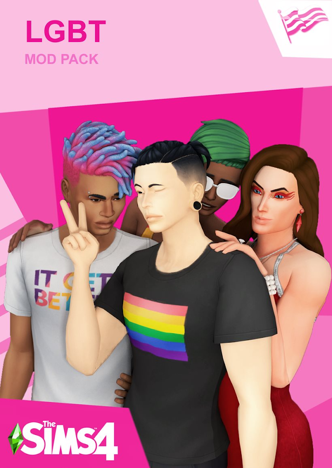 |MODS&CC| THE SIMS 4 LGBT by PimpMySims4 MOD HAS BEEN UPDATED