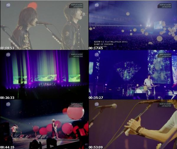 [TV-Variety] BUMP OF CHICKEN LIVE SELECTION – 2016.02.10