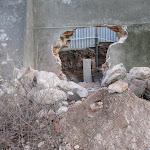 2012.01.03.-Poczatek nowego ucha igielnego koło krypt.JPG