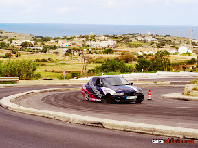 BMW E36 Hill Drift