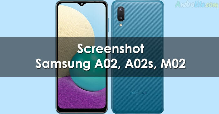 Cara Mudah Screenshot Layar Samsung A02 dan A02s
