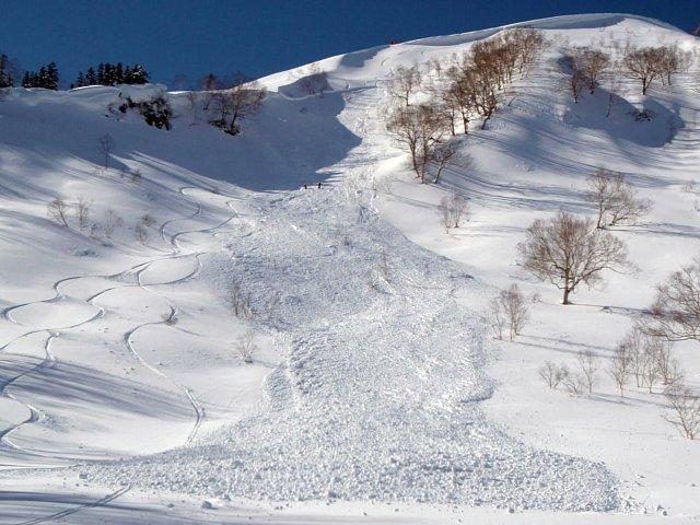 Avalanche Japon , secteur Goryu - Photo 1