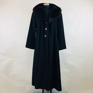 Searle Cashmere Coat w/ Fox Collar