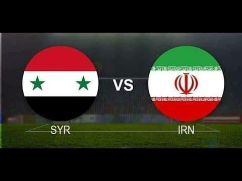 موعد مباراة سوريا وايران في تصفيات كأس العالم 2022.