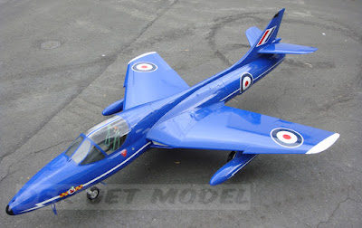 Double-Seater Hawker Hunter - Blue Diamonds [XL577]