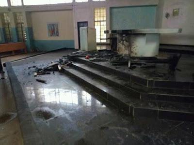 Nigeria Civil War II Begins In Kaduna As Suspected Muslim Youths Burnt Catholic Church