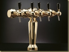 BRUXELLES 1 пивная колонна на 5 сортов пива