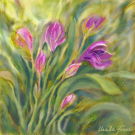 """The """"Tulip Garden"""" piece from the """"2003"""" collection"""