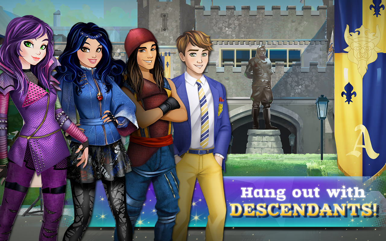 descendants 2 player games