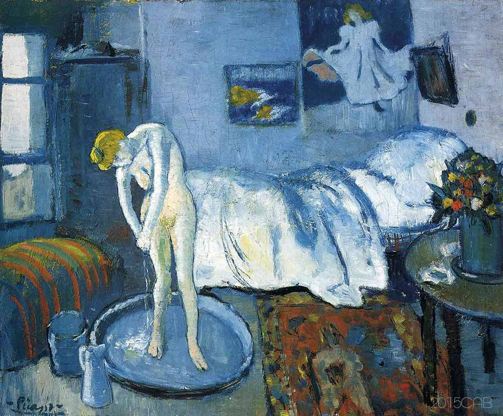 Testclod La Chambre Bleue Pablo Picasso