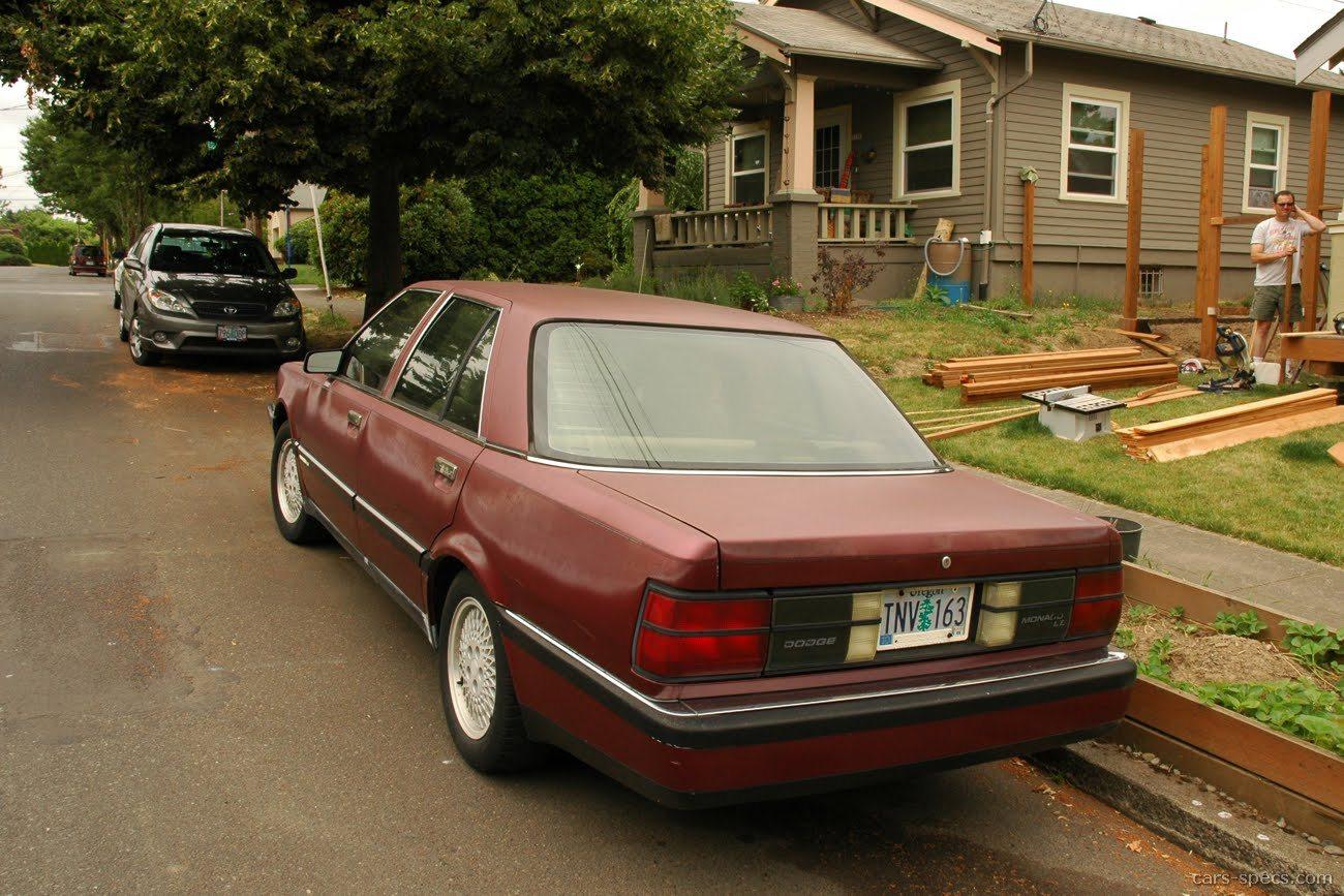 1991 dodge monaco es sedan 3 0l v6 4 speed automatic