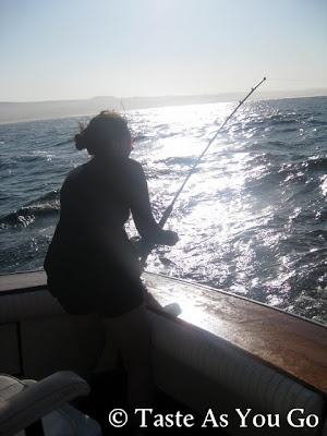 Bonito Fishing in Los Cabos, Mexico - Photo by Michelle Judd of Taste As You Go