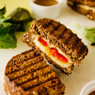 Roasted Pepper & Gouda Grilled Cheese