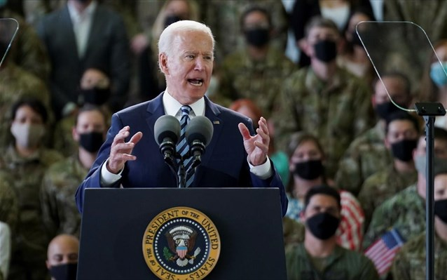 Βρετανία: «Οι ΗΠΑ επέστρεψαν!», δηλώνει ο πρόεδρος Μπάιντεν