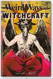 Cover of Dr Leo Martello's Book Weird Ways Of Witchcraft