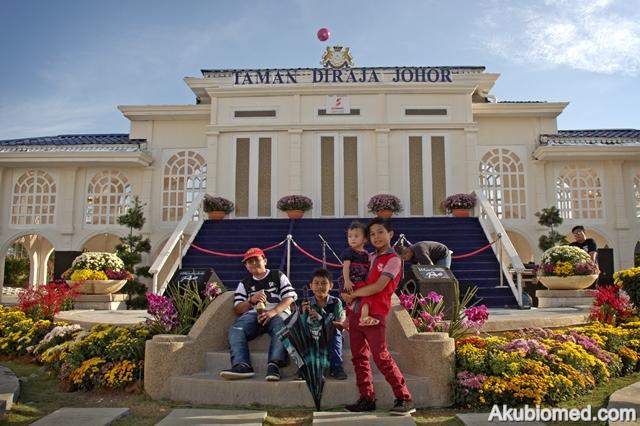 Royal garden taman di raja Johor