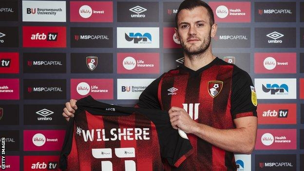 Transfer Updates Former Arsenal Player Jack Wilshere Joins Bournemouth On Deal Until End Of The Season