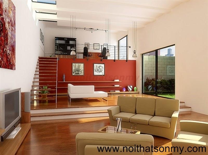 Mẫu thiết kế nội thất phòng khách 326