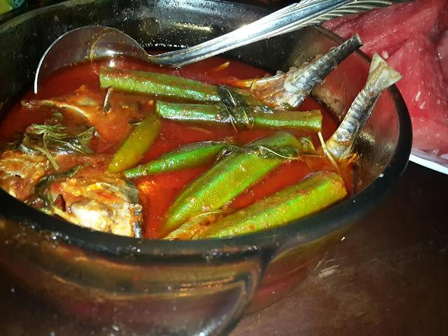 Resepi Mudah Ramadhan 2016 - Ikan Cencaru Masak Asam Pedas Bendi