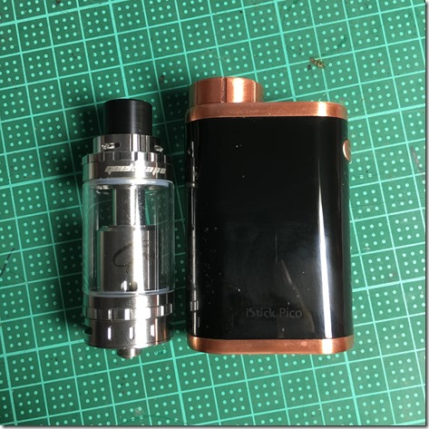 IMG 0924 thumb%25255B2%25255D - 【RTA】GeekVape Griffin 25 Top Airflowレビュー。ミストもタンクも最大級!【爆煙】