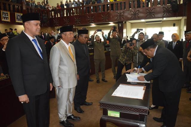 DPRD Kota Bekasi Gelar Paripurna Penetapan Walikota dan Wakil Walikota Bekasi