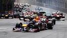 Start of 2012 Monaco F1 GP
