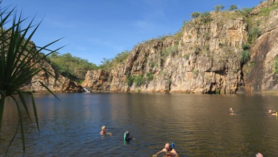 Plunge Pool Edith Falls