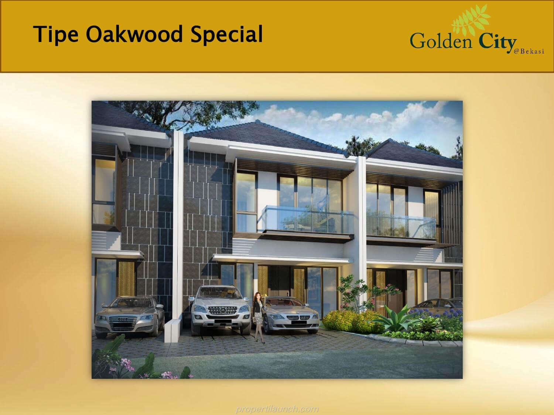 Rumah Cluster Greenwood Golden City Bekasi Tipe Oakwood Special