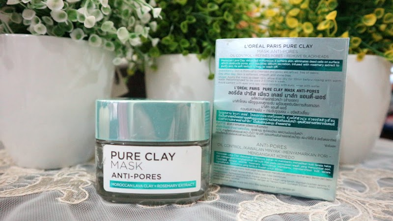 Review : L'oreal Paris Pure Clay Mask Anti-Pores