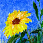 Arty Party Sunflower.JPG