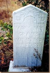 Mary Ann Graves