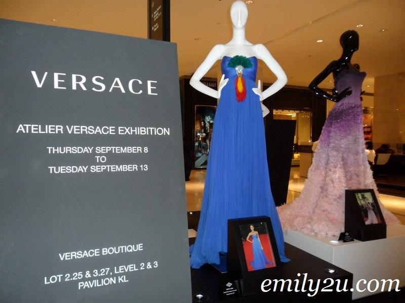 Atelier Versace Exhibition @ Pavilion KL