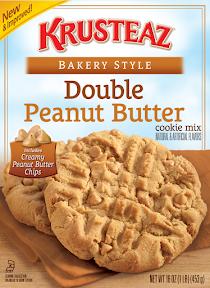 Krustez cookie mix - Double Peanut Butter