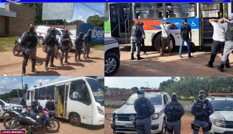 POLÍCIA MILITAR FECHA O CERCO CONTRA ASSALTOS A COLETIVOS NA REGIÃO METROPOLITANA DE SÃO LUÍS
