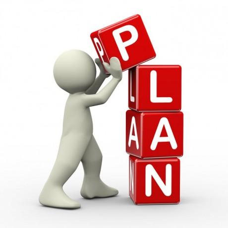 Plan everything beforehand!