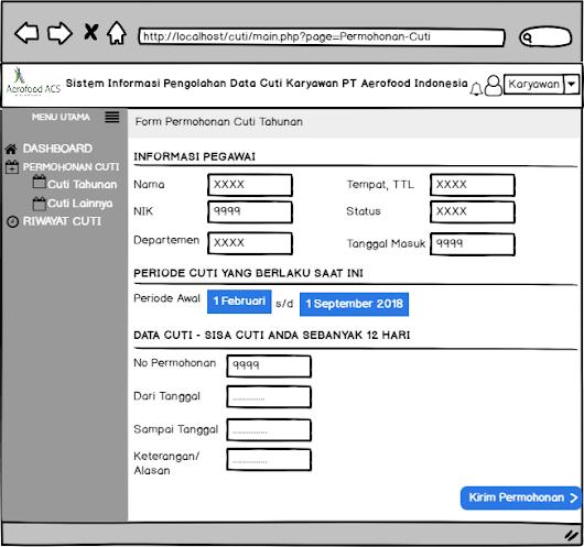 Contoh Laporan Pkl Sistem Informasi Pengolahan Data Karyawan Kumpulan Contoh Laporan