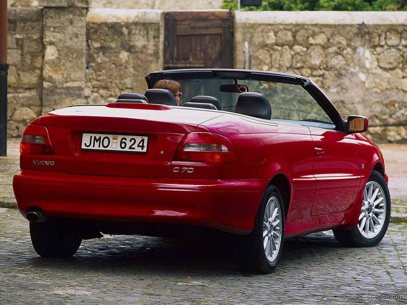 2002 volvo c70 convertible specifications pictures prices. Black Bedroom Furniture Sets. Home Design Ideas