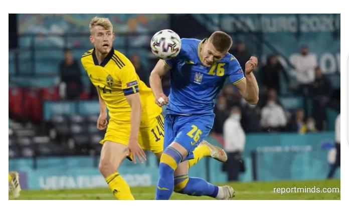 Euro 2020: Ukraine secures memeroable win after 120 minutes against ten-men Sweden to secure quarter-final tie against England (Highlights)
