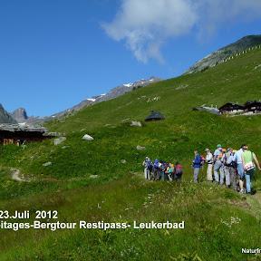 2Tagestour Restipass - Leukerbad 22./23.Juli 2012