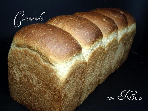 Cocinando con kisa pan de molde al 50 integral chef o for Cocinando con kisa