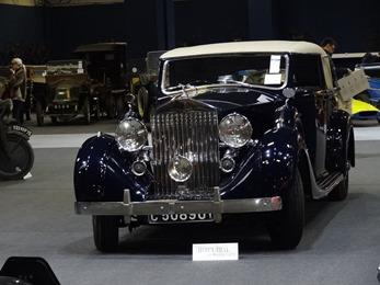 2018.12.11-053 Artcurial Motorcars Rolls-Royce Wraight faux cabriolet Vanvooren 1939
