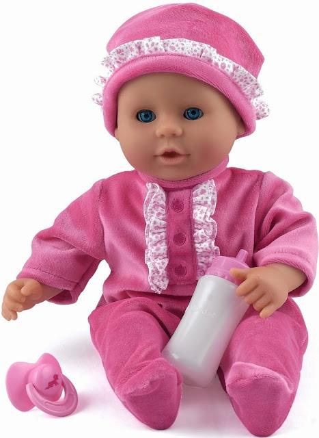 Bé cưng của mẹ Dolls World Little Treasure quả thực rất đáng yêu