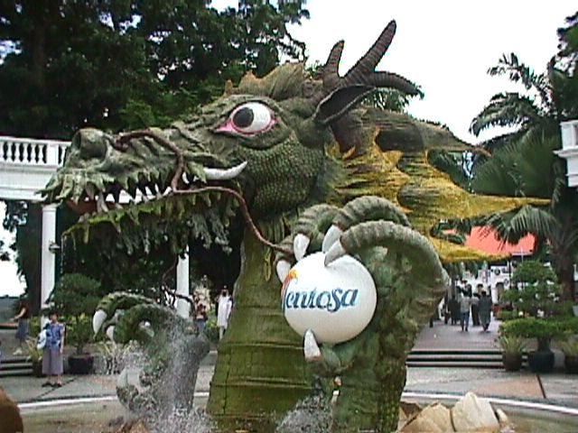 3130Sentosa's Welcoming Dragon