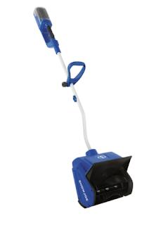 Cordless electric snow shovel