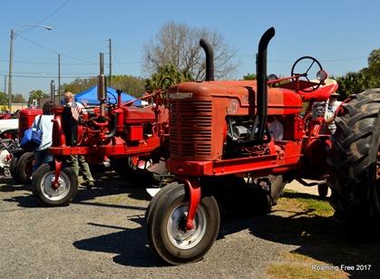 Oh - tractors!