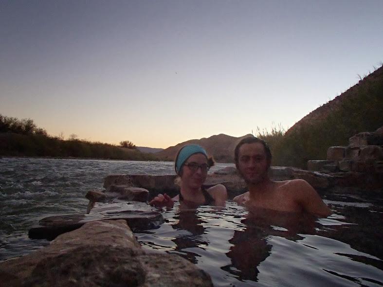 Big Bend National Park Hot Spring Sunset